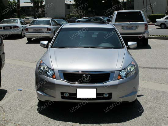 Honda - Accord - HID - conversion - HB3 - SMD - LED - DRL - 8